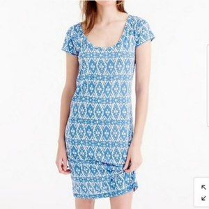 NWT J.Crew Sunwashed Cotton T-Shirt Dress Cover Up